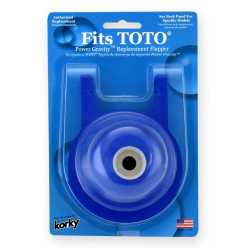 """Korky 3"""" Flapper for TOTO Power Gravity Toilets"""