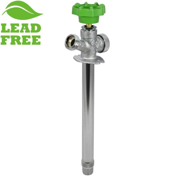 "8"" Anti-Siphon Frost Free Sillcock, 1/2"" MPT (Outside) x 1/2"" SWT (Inside), Lead-Free"