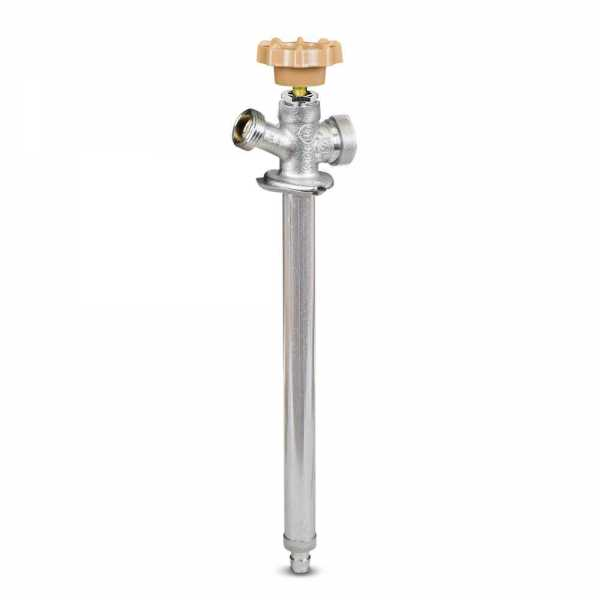 "10"" Anti-Siphon Frost Free Sillcock, 1/2"" PEX Cold Expansion (F1960), Lead-Free"