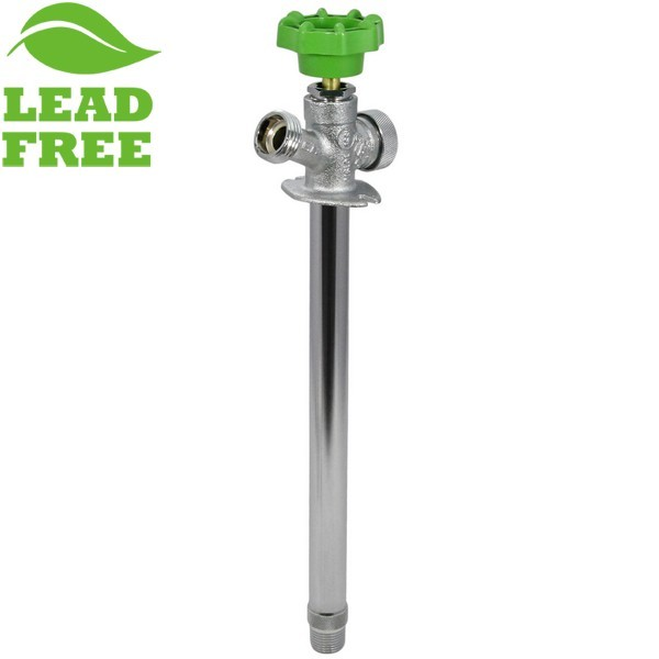 """10"""" Anti-Siphon Frost Free Sillcock, 1/2"""" MPT (Outside) x 1/2"""" SWT (Inside), Lead-Free"""