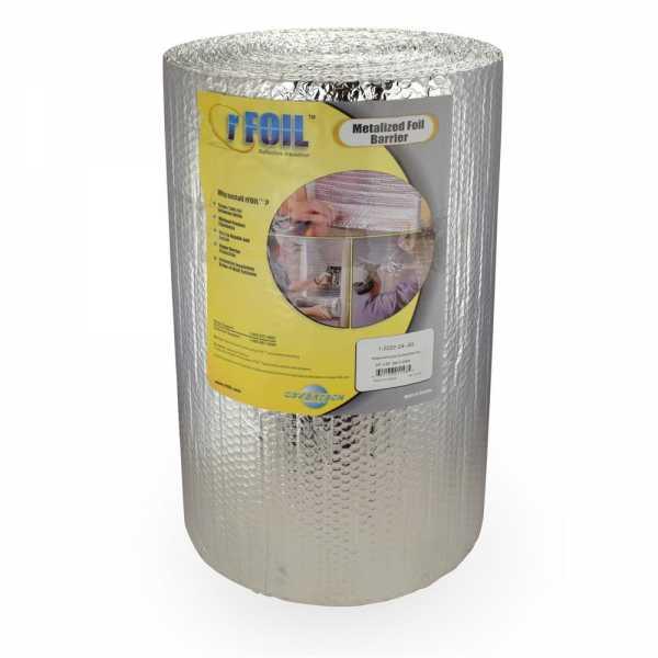 "100 sqft, 24"" x 50ft rFoil Between-Joist Reflective Radiant Heat Insulation"