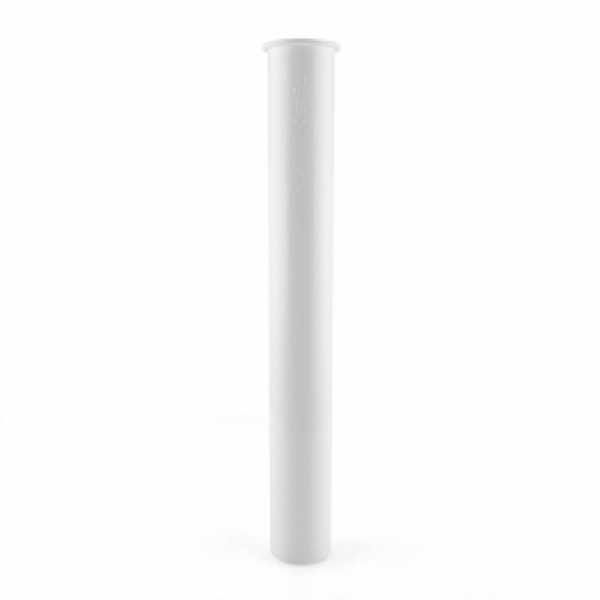 "1-1/2"" x 12"" Flanged Tailpiece, White Plastic"