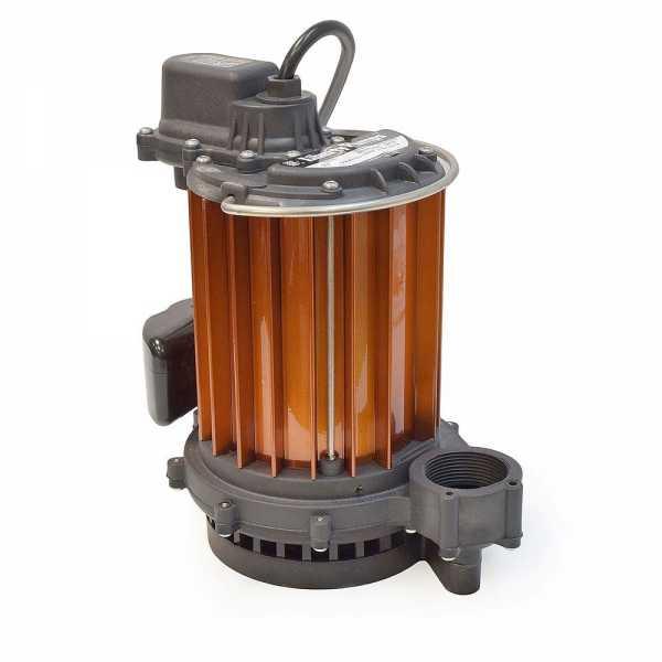 Liberty Pumps 237, 1/3 HP Auto Sump Pump, Vertical Float Switch, 115V, 10' cord