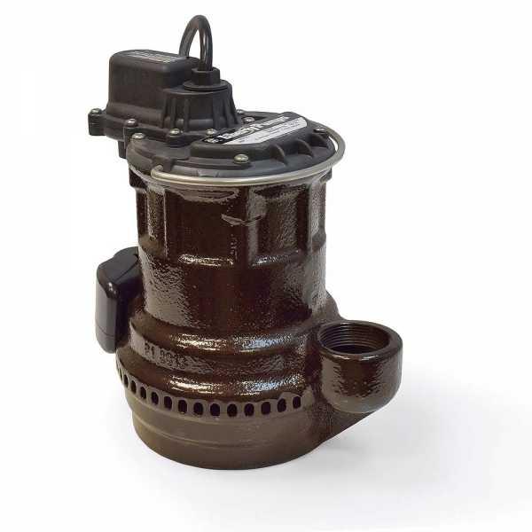 Liberty Pumps 240-2, 1/4 HP Manual Sump Pump, 115V, 25' cord