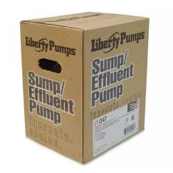 Automatic Sump Pump w/ Vertical Float Switch, 10' cord, 1/4HP, 115V