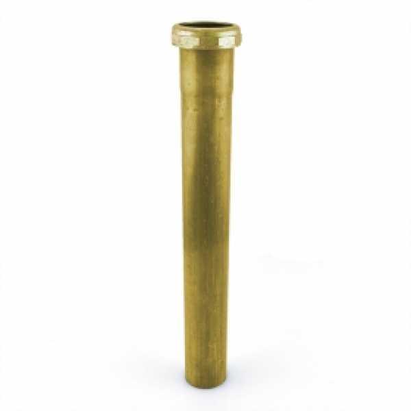 "1-1/2"" x 12"", 22GA, Slip Joint Tailpiece, Rough Brass"