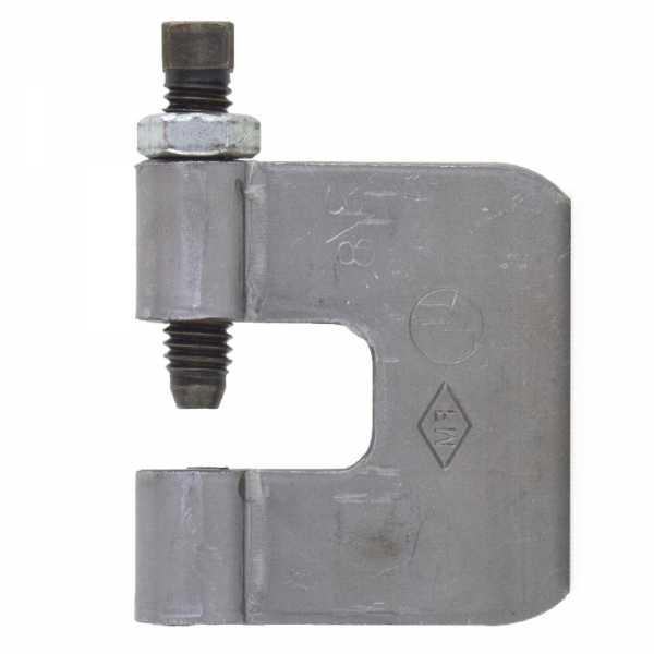 "3/8"" Steel C-Clamp w/ Locknut"