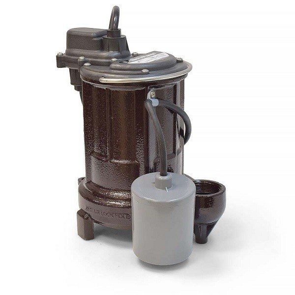 Liberty Pumps 251-5, 1/3 HP Automatic Sump/Effluent Pump, Wide Angle Switch, 115V, 50' cord