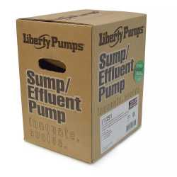 Automatic Sump/Effluent Pump w/ Wide Angle Float Switch 10' cord, 1/3HP, 115V