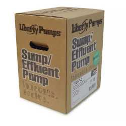 Automatic Sump/Effluent Pump w/ Vertical Float Switch 25' cord, 1/3HP, 115V