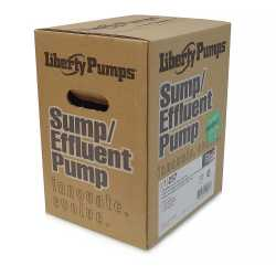 Automatic Sump/Effluent Pump w/ Vertical Float Switch, 1/3HP, 115V, 10' cord