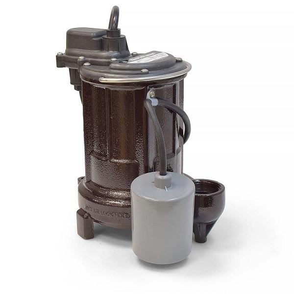 Liberty Pumps 251-3, 1/3 HP Automatic Sump / Effluent Pump, 115V, 35' cord
