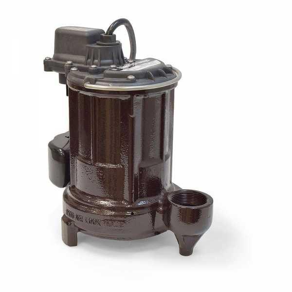 Liberty Pumps 250-2, 1/3 HP Manual Sump/Effluent Pump, 115V, 25' cord
