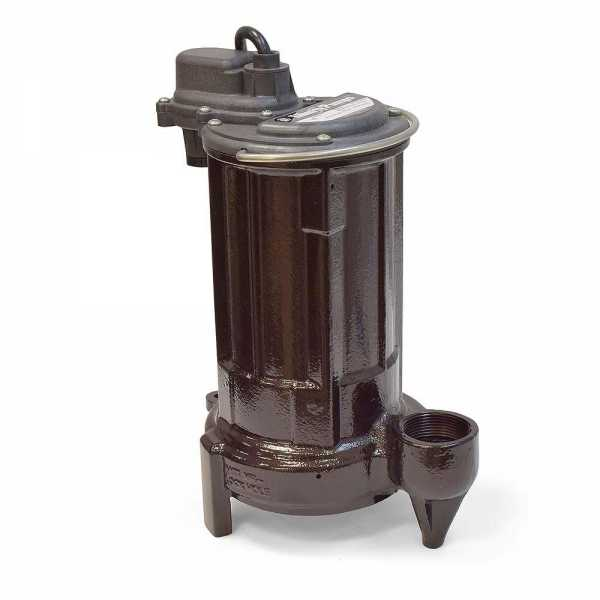 Manual Sump/Effluent Pump, 1/2HP, 25' cord, 115V