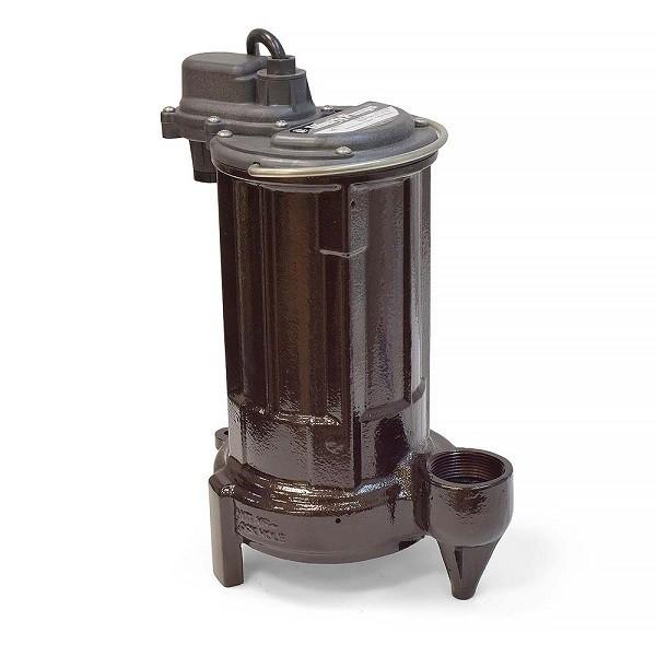 """Liberty Pumps 280-3 1/2 HP Manual Sump / Effluent Pump, 110V ~ 120V, 35"""" cord"""