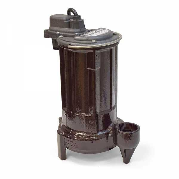 Manual Sump/Effluent Pump, 1/2HP, 35' cord, 115V