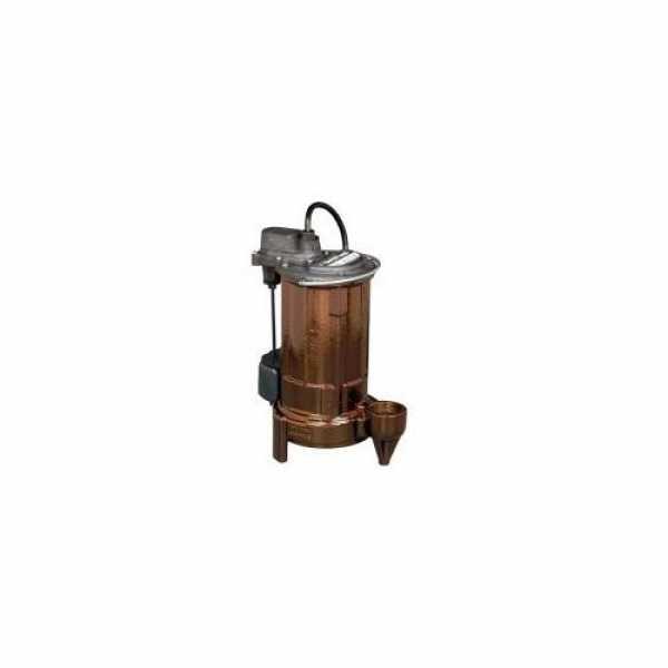 "Liberty Pumps Liberty Pump 287HV, 3/4 HP Sewage Pump System - 115v - 3"" Discharge - 24"" x 24"" Basin"