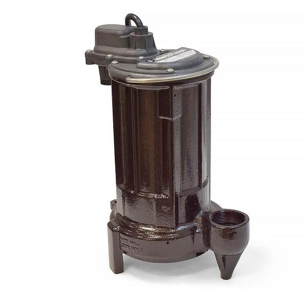 Manual Sump/Effluent Pump, 1/2HP, 115V, 10' cord