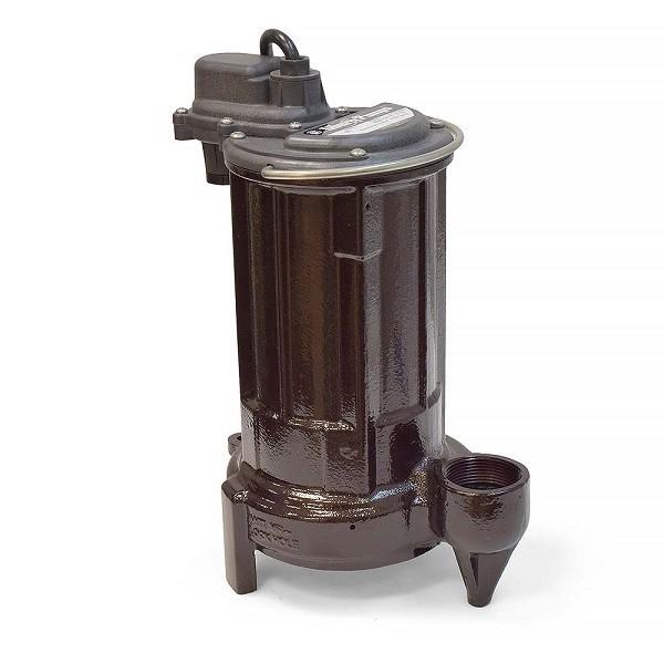 Manual Sump/Effluent Pump, 1/2HP, 25' cord, 115V