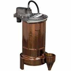 Manual Sump/Effluent Pump, 3/4HP, 10' cord, 115V