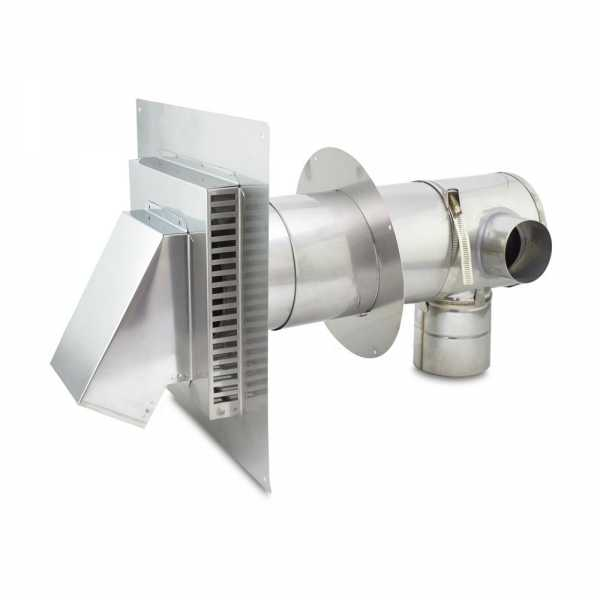 """Z-Vent Concentric Vent Kit w/ 3"""" Fresh Air Intake and 4"""" Exhaust"""