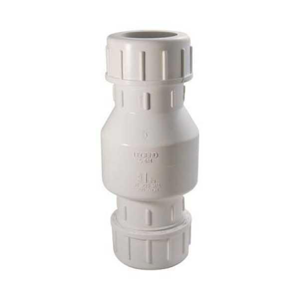 Liberty Pumps CV2N1C,  Heavy-duty Compression Fit, 1-1/4' x 1-1/2'