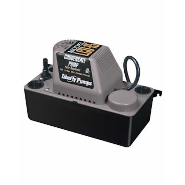 """Liberty Pumps LCU-15S 1/50 HP Manual Condensate Removal Pump w/ Safety Switch, 110V ~ 120V, 6"""" cord"""