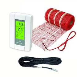 5sqft Electric Radiant Floor Heating Mat Kit, 120V