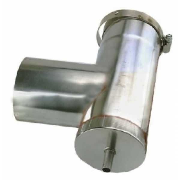 "4"" Z-Vent Vertical Condensate Drain Tee"