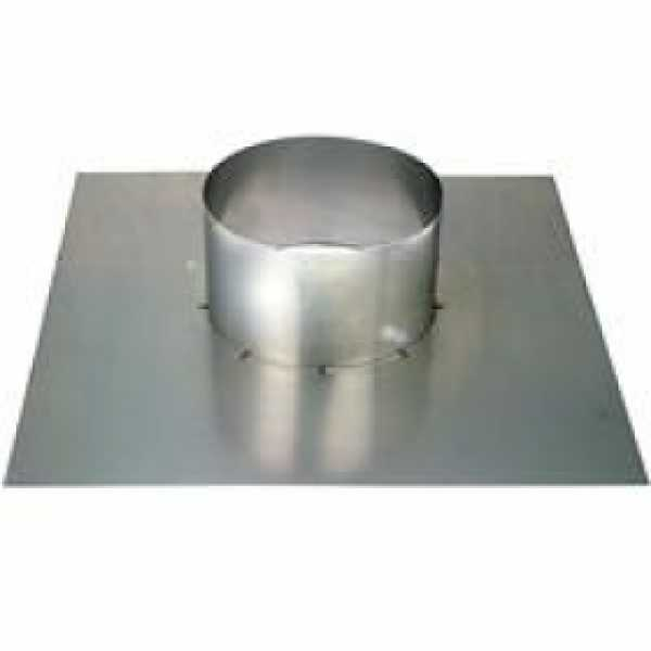 "4"" Z-Vent Flat Roof/Chimney Flashing"