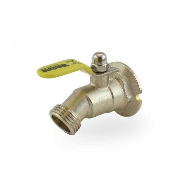 "1/2"" FIP Hose Bibb Ball Valve (1/4-Turn), Lead-Free"