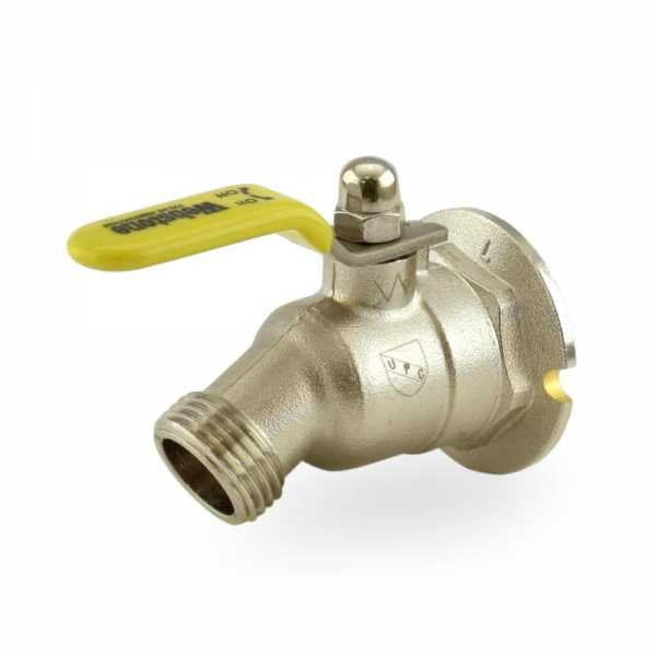 "3/4"" FIP Hose Bibb Ball Valve (1/4-Turn), Lead-Free"