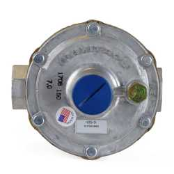 "1/2"" Gas Appliance Regulator w/ Vent Limiter (325-3V series)"