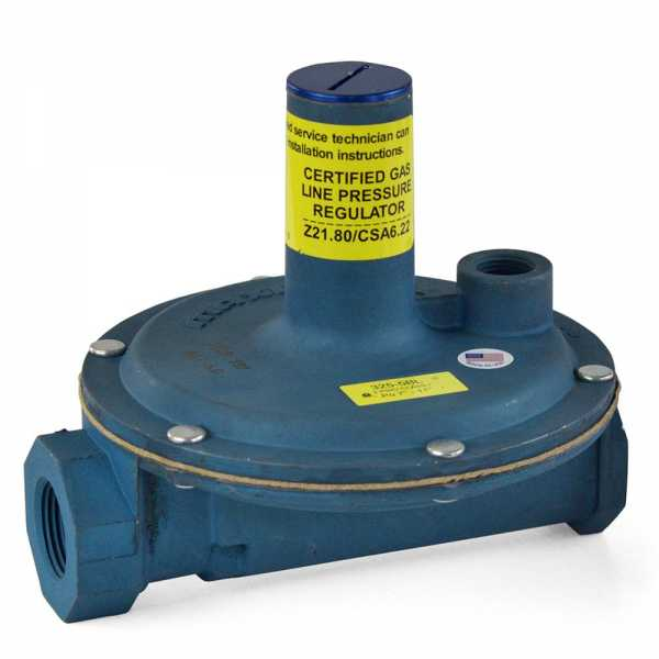 "3/4"" Gas Appliance & Line Pressure Regulator w/ Imblue Coating (325-5L series)"