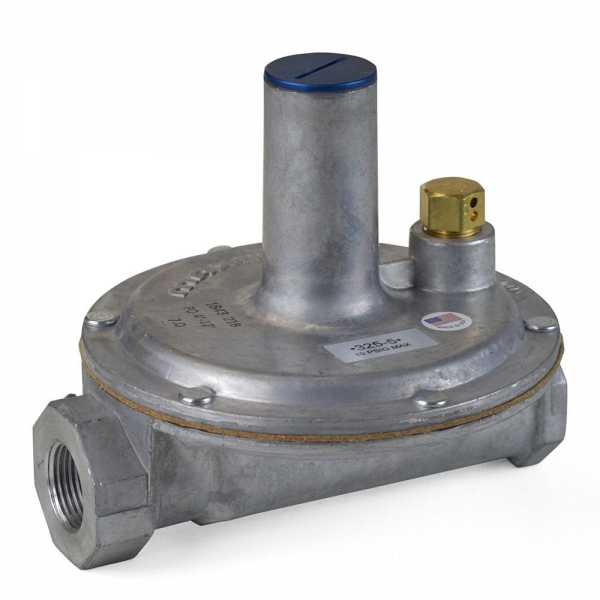 "3/4"" Gas Appliance Regulator w/ Vent Limiter (325-5V series)"