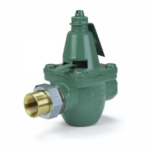 "1/2"" Threaded x Union Pressure Reducing/Boiler Fill Valve"