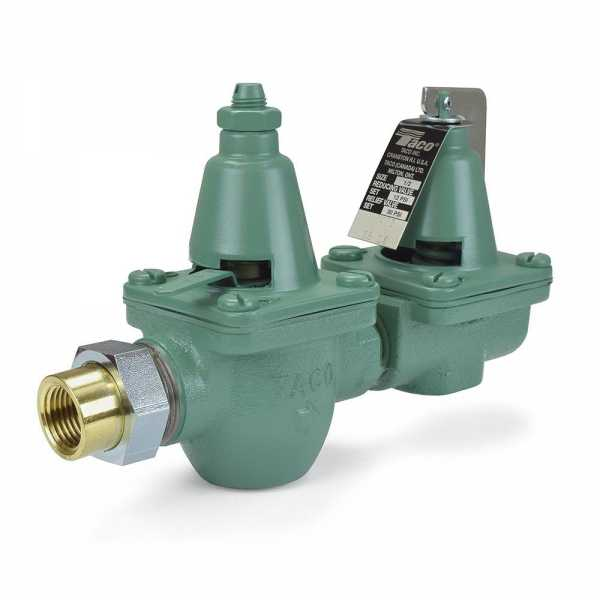 "1/2"" Threaded x Union Pressure Reducing/Boiler Fill Valve & Pressure Relief Valve"