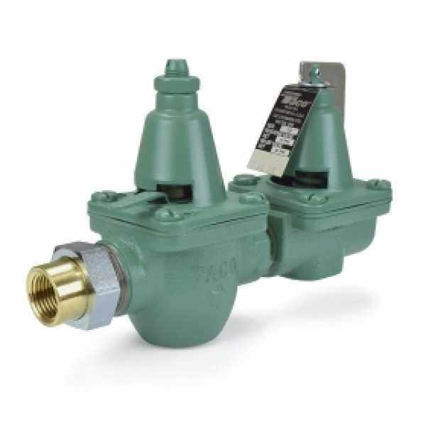 """1/2"""" Threaded x Union Pressure Reducing/Boiler Fill Valve & Pressure Relief Valve"""