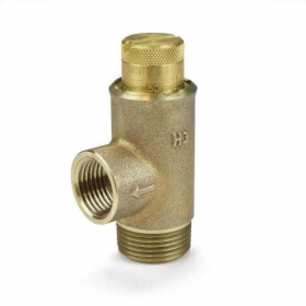 "3/4"" Adjustable Pressure Relief Valve, 25-175 psi (Lead-Free)"