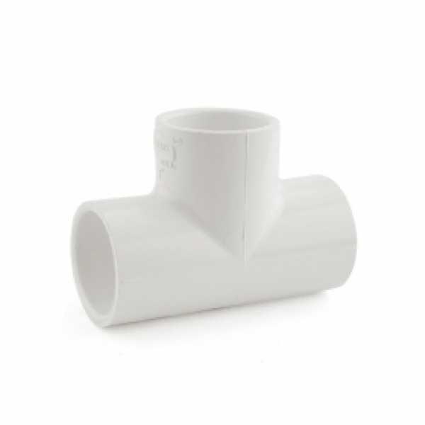 """1"""" PVC (Sch. 40) Tee"""