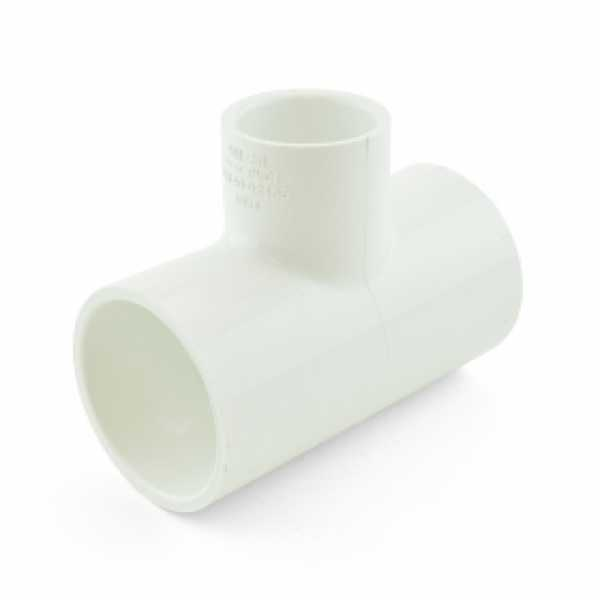 "1-1/2"" x 1-1/2"" x 1"" PVC (Sch. 40) Reducing Tee"