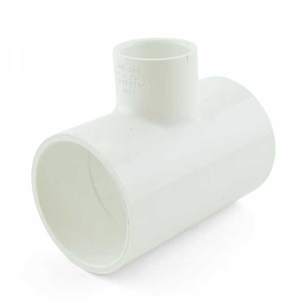 "2"" x 2"" x 1"" PVC (Sch. 40) Reducing Tee"