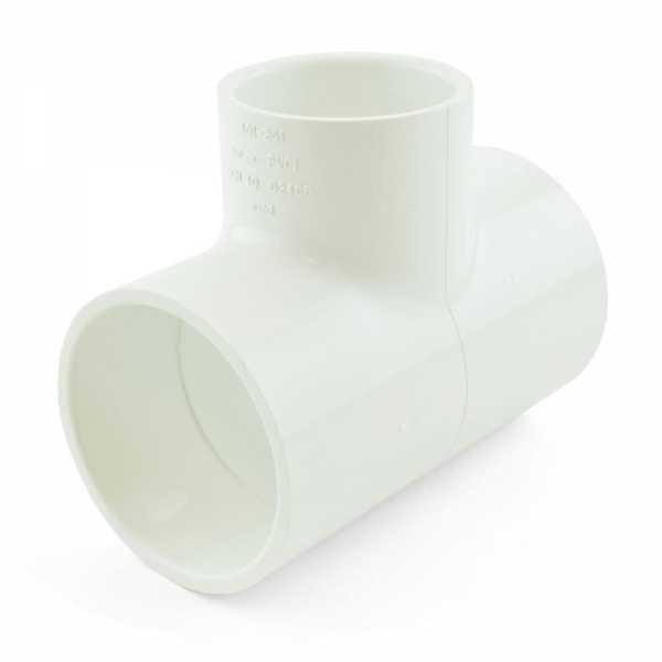 "2"" x 2"" x 1-1/2"" PVC (Sch. 40) Reducing Tee"