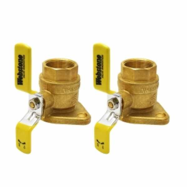 "1-1/4"" IPS Isolator Flange Valves (pair)"