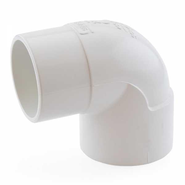 "2"" PVC (Sch. 40) 90° Street Elbow"