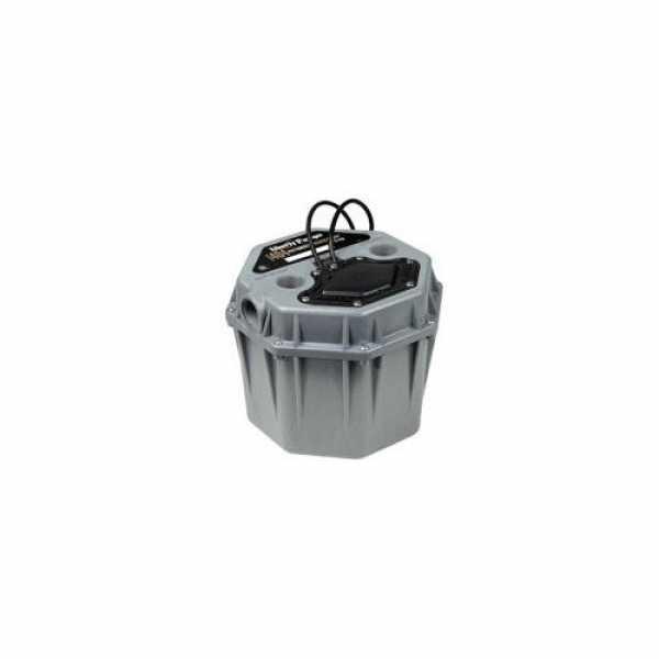 "Automatic Drain Pump w/ 4.3 gal Basin, 1-1/2"" Connection, 10' cord, 1/3HP, 115V"
