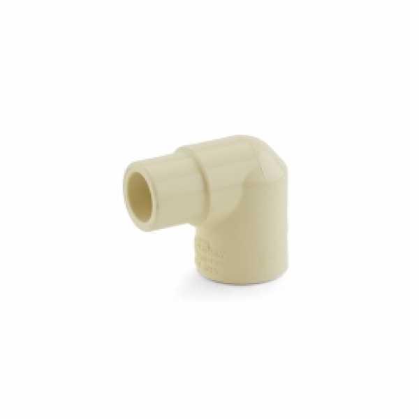 """1/2"""" CPVC CTS 90° Street Elbow (Spigot x Socket)"""