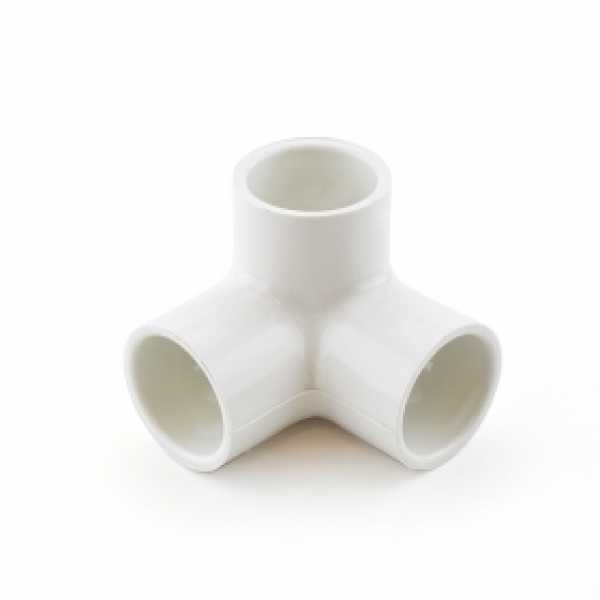 "3/4"" PVC (Sch. 40) 90° Elbow w/ Side Outlet"