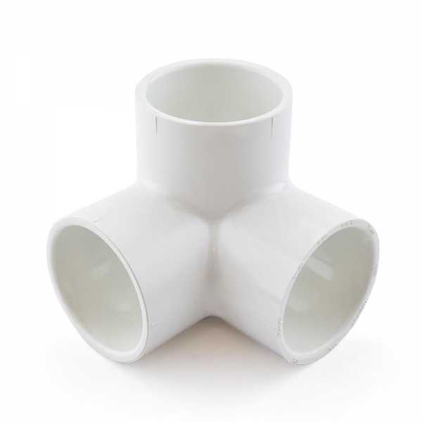 "1-1/2"" PVC (Sch. 40) 90° Elbow w/ Side Outlet"