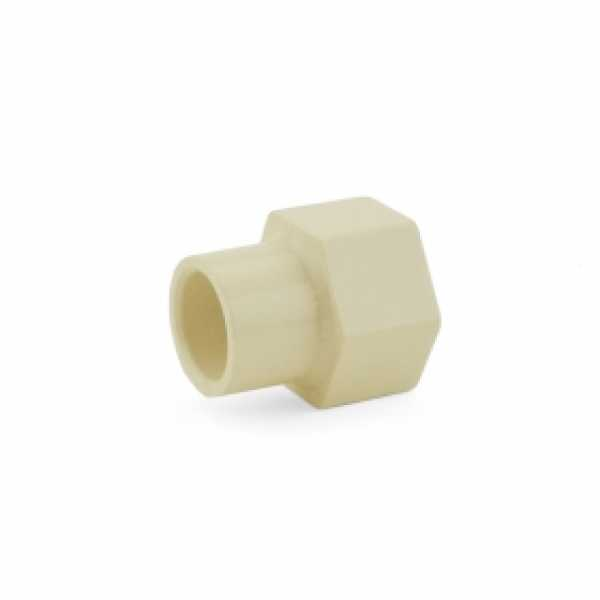 "1/2"" CTS CPVC Female Adapter w/ Gasket (Socket x FIP)"